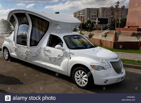 Elaborate limousine made to look like a carriage for a