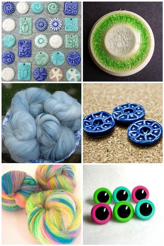 from Etsy SUpplies - Handmade by the Seller pool