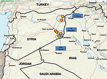 Hrs 140925-D-ZZ999-001 Airstrikes from Saudi Arabia, UAE and the USA against oil refineries in eastern Syria controlled by the ISIL (2014).jpg