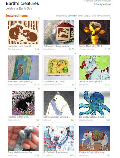 Earth's Creatures Treasury