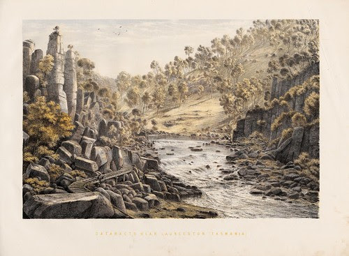 Cataracts near Launceston (Tasmania)