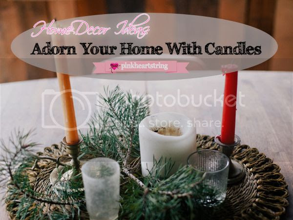 Home Decor Ideas: Adorn Your Home with Candles
