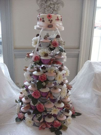 Gallery of Cupcake Wedding Cakes   Cake Maker Falmouth