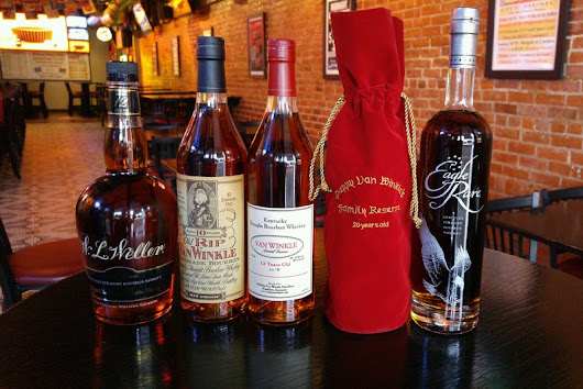 Got Bourbon? Yep… We Have Some Ultra Rare Kentucky Bourbons! | JerZees Pub and Grub