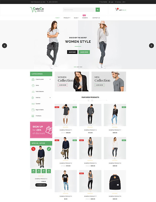 SP Calaco - Clothing and Fashion Shopify Theme