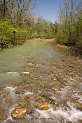 The Mulberry River, Johnson County, Arkansas