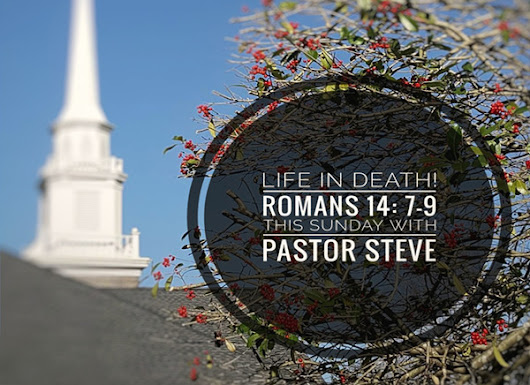 This Sunday at with Pastor Steve