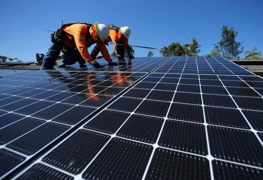 Trump's inconvenient truth: in the US solar employs more than the entire fossil fuel industry