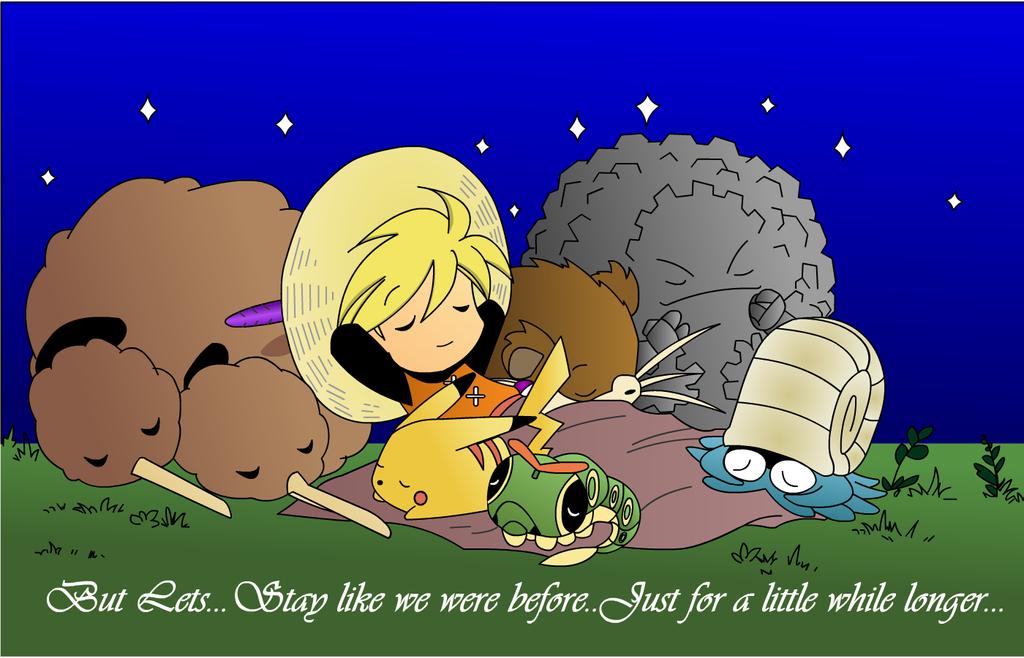 Pokemon Adventures:Cozy Family by oramisho on DeviantArt