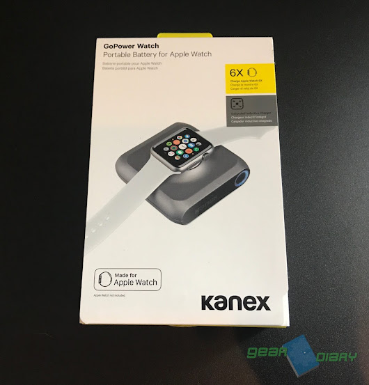 Kanex GoPower Watch Battery Pack Is the Ultimate Apple Watch Accessory • GearDiary