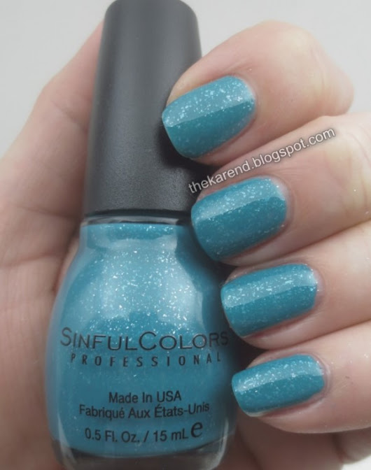 SinfulColors Stoned Crystal Shimmer Shades