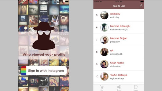 Instagram-tracking app actually stole your password