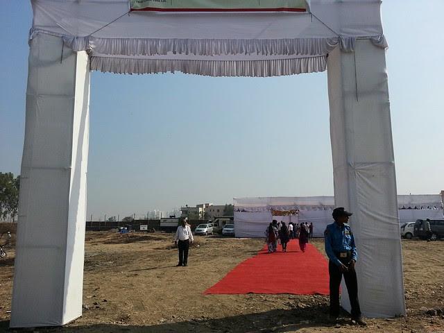 """Bhoomi Poojan of Sanjeevani Parth Developers' """"Davabindu"""" at Sus Gaon, Pune"""