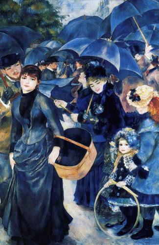 Los paraguas de Pierre-Auguste Renoir