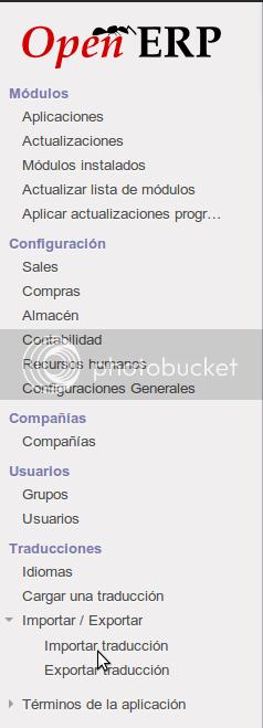 Traduccion OpenERP