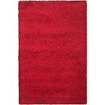 Safavieh California Shag Red Area Rug; 8' x 10'