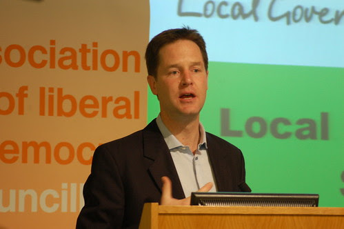 Nick Clegg Lib Dem local government conference June 10 3