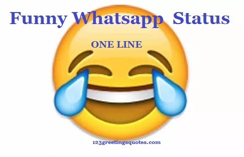 Funny Jokes For Whatsapp In English One Line