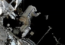 Russians toss satellites and install animal tracking system in marathon spacewalk