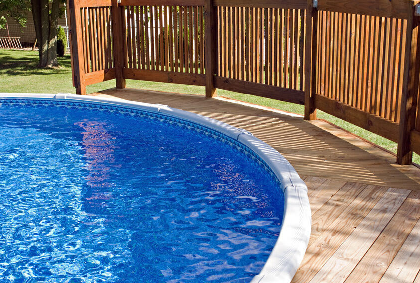 How to Build a Round Swimming Pool Deck | eBay