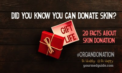 20 Facts About Skin Donation #OrganDonationDay