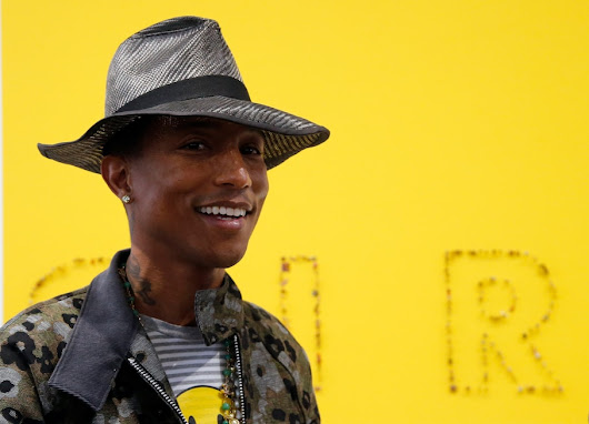 Pharrell Williams is writing a children's book. You'll never guess what it's based on.