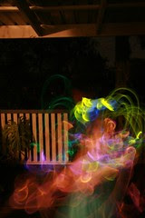 Christmas Glowstick Fun #2
