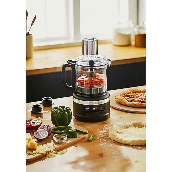 KitchenAid KitchenAid® 7-Cup Food Processor in Matte Black