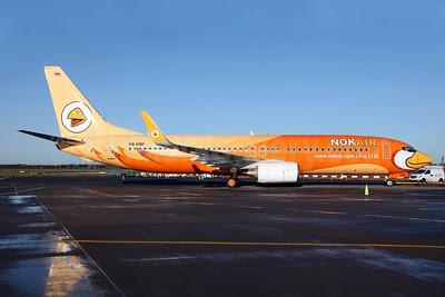 Nok Air Boeing 737-8V3 WL HS-DBF (msn 29670) DUB (Greenwing). Image: 910131.