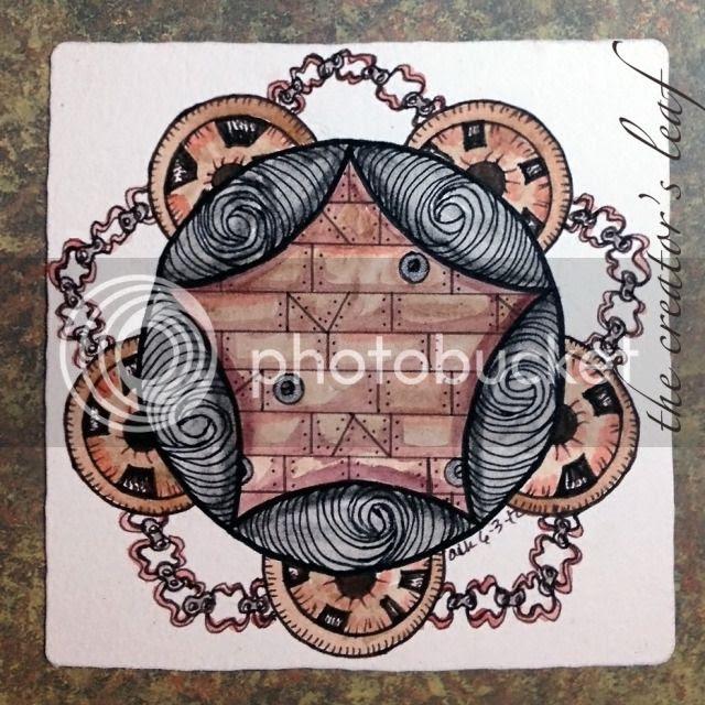 Steampunk Zendala Dare #7