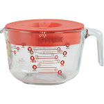 Pyrex Prepware 8 Cup Clear Glass Measuring Cup with Lid 1055161