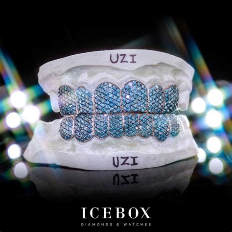 icebox custom grillz gallery diamond teeth pave