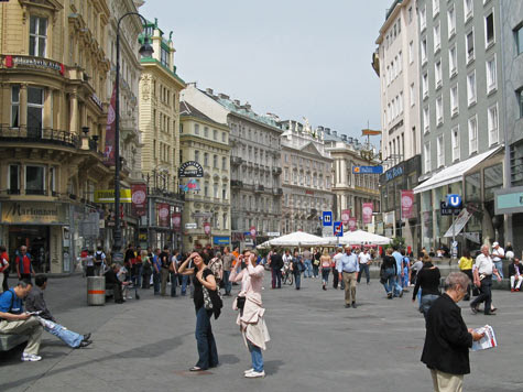 Travel Europe - Places of Interest in Vienna Austria