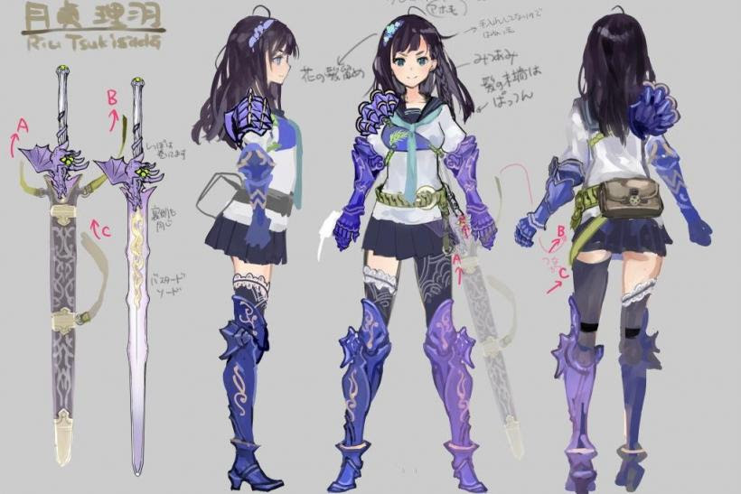 Stranger of Sword City Character Redesign