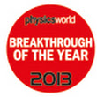 Cosmic neutrinos named Physics World 2013 Breakthrough of the Year -