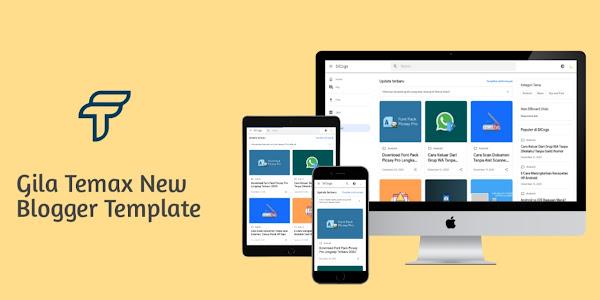 Gila temax v2 premium blogger template