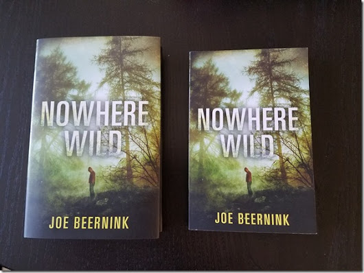 Paperback Edition of NOWHERE WILD Arrives