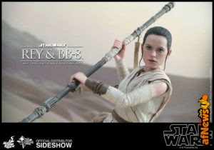 Hot Toys Star Wars: Rey e BB-8