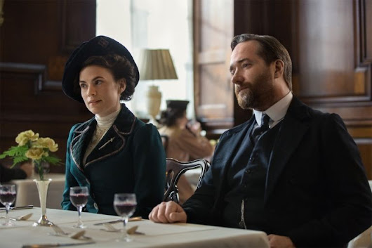 PREMIERING TONIGHT on Starz: Howards End, starring Hayley Atwell and Matthew Macfayden