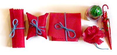 paquetitos envueltos