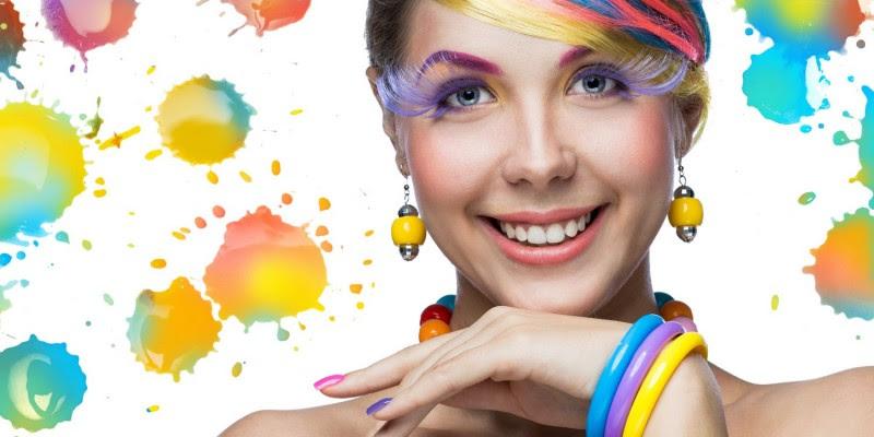 Färben Tönen Strähnchen Frische Farbe Für Die Haare Frisurade