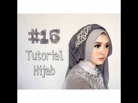 VIDEO : #16 tutorial hijab segi empat paris rawis wisuda pesta kondangan simple by @olinyolina - hijabyang digunakan : 1. segi empat bahan rawis glitter warna abu-abu mudahijabyang digunakan : 1. segi empat bahan rawis glitter warna abu-a ...