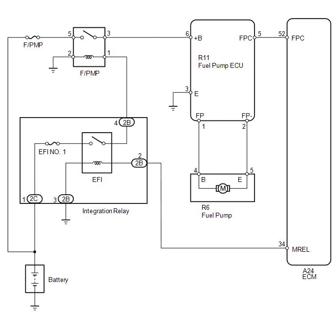 Toyota Tundra Service Manual Fuel Pump Control Circuit Sfi System