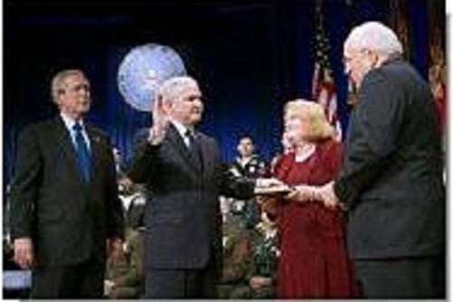 gates sworn in