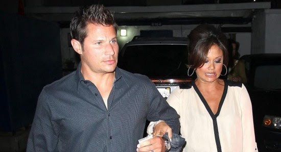 Vanessa Minnillo with Nick Lachey