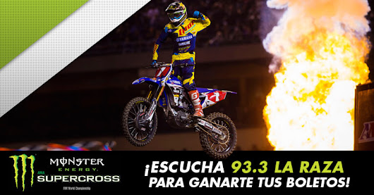 Gana boletos para Monster Energy Supercross! • yosoyraza