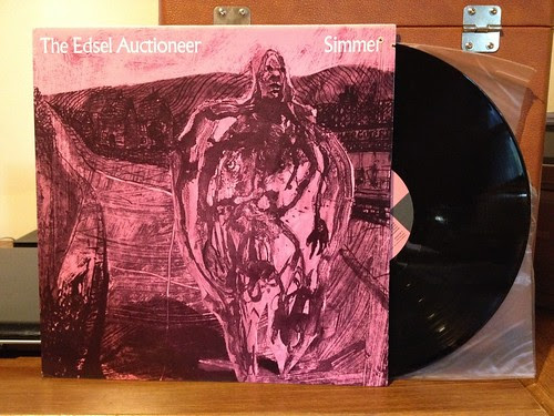 The Edsel Auctioneer - Simmer LP by Tim PopKid