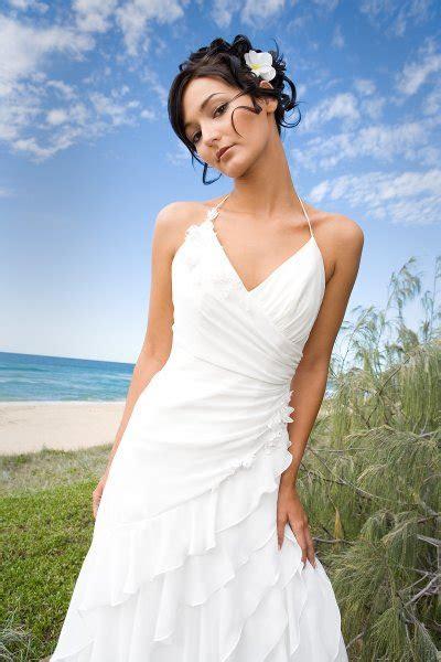 beach wedding dresses dressed  girl