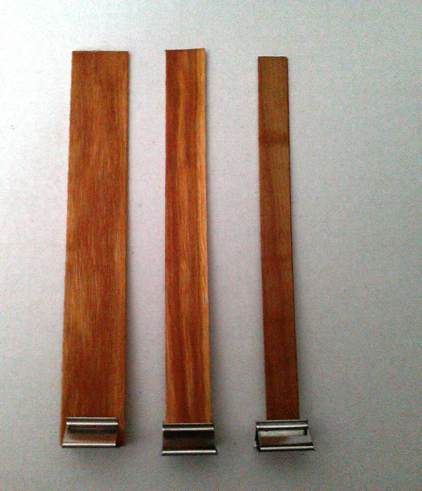 Ten (10) Candle Wood Wicks w/ Sustainer Tabs - Candle ...