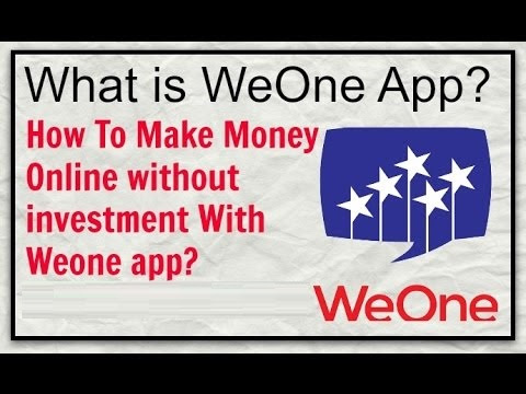 A wonderful way to earn in just 90seconds - WeOne App! - ANextWeb